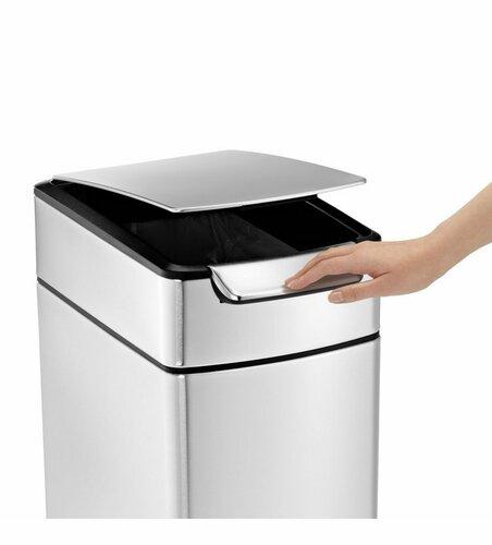 Simplehuman Dotykový odpadkový koš 40 l, úzký
