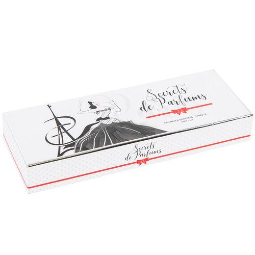 Darčeková sada francúzskych parfumov Charrier Parfums DR201, 5 ks