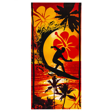 Prosop de plajă Surf, 70 x 150 cm