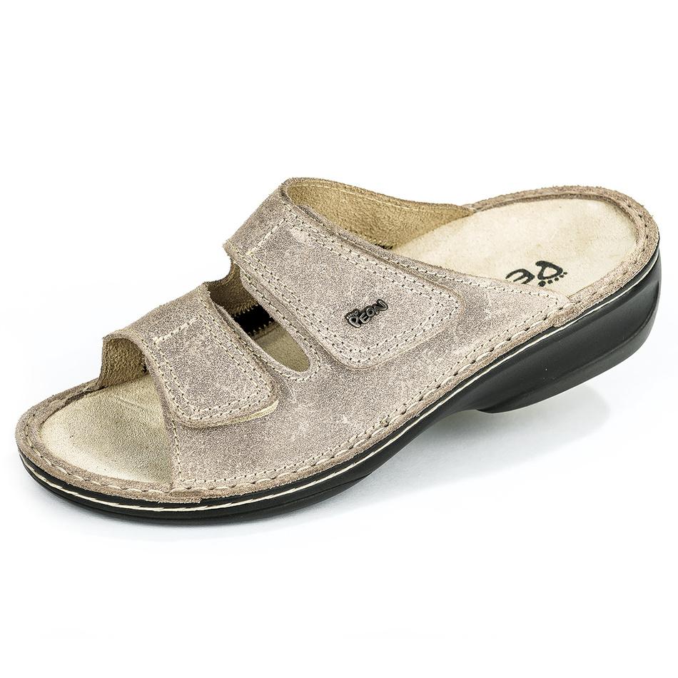 Výpredaj Peon dámske papuče MJ3701 béžová, vel. 36, 36