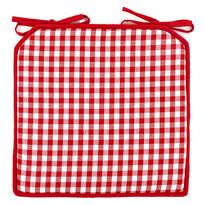 Sedák Kostka červená, 40 x 40 cm