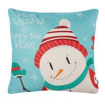 4Home Vánoční povlak na polštářek Happy Snowman, 45 x 45 cm