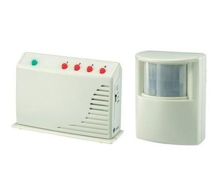 Alarm bezdrátový s detektorem pohybů, HAS, Conrad, bílá