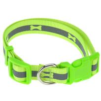 Obroża dla psa Neon zielony, rozm. M