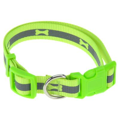 Neon zöld kutyanyakörv, M méret
