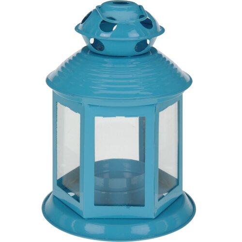 Lampáš na čajovú sviečku Linterne, modrá