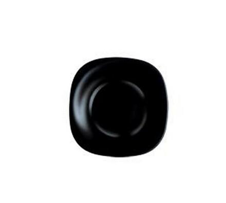 Hluboký talíř Carine, 6 ks, černý, Luminarc, černá