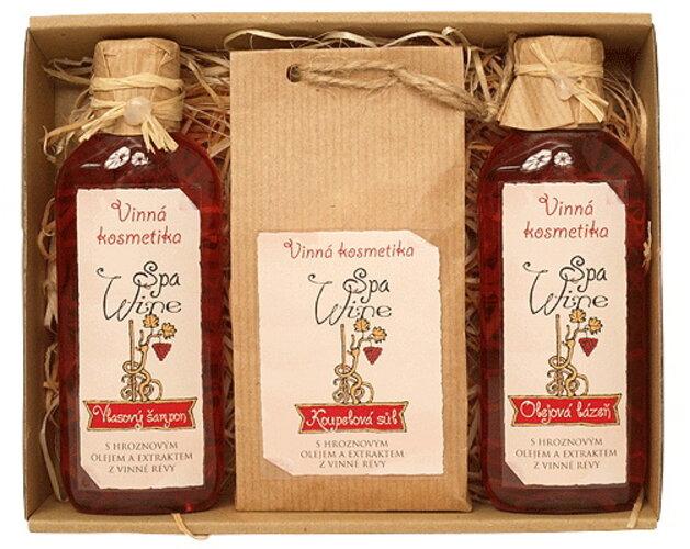 Darčekové balenie vínnej kozmetiky Wine Spa