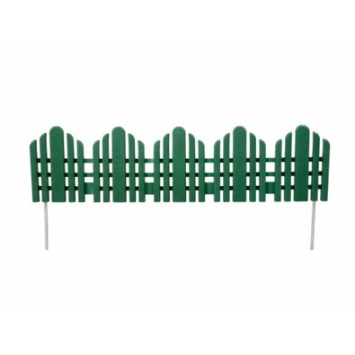 Płotek dekoracyjny 56 cm, zielony