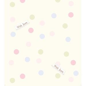 AG Art Dětská fototapeta Dots with love, 53 x 1005 cm