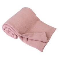 Gyermek takaró, rózsaszín, 75 x 100 cm