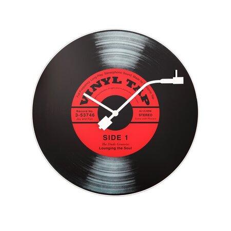 Nextime Vinyl Tap 8141 falióra, átmérő 43 cm