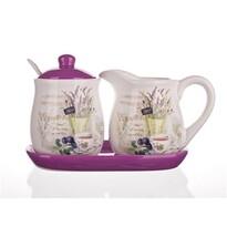Banquet Lavender mliekovky s cukorničkou