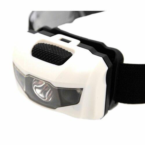 Cattara Čelová svítilna LED 80 lm, bílá