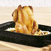 Stojan na pečení kuřete a DÁREK mašlovačka