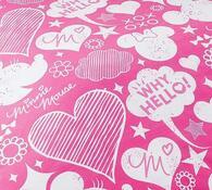 Dětské bavlněné povlečení Minnie Pinkie, 140 x 200 cm, 70 x 90 cm