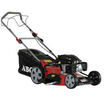 Motorová kosačka s pojazdom ABG 575 4v1, červená