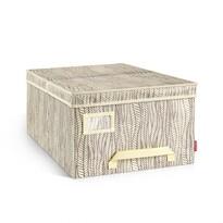 Tescoma Krabica na odevy Fancy Home, 40 x 52 x 25 cm, prírodná