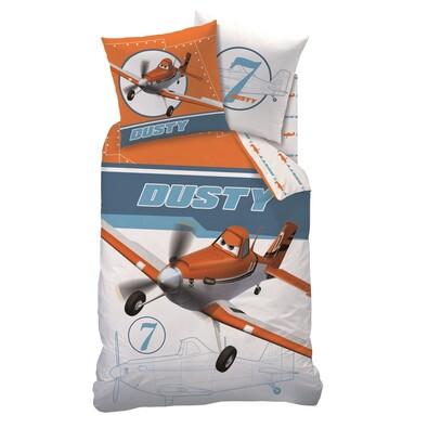 Dětské bavlněné povlečení Planes Dusty, 140 x 200 cm, 70 x 90 cm