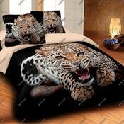 Matějovský přehoz na postel Leopard Wild, 220 x 240 cm