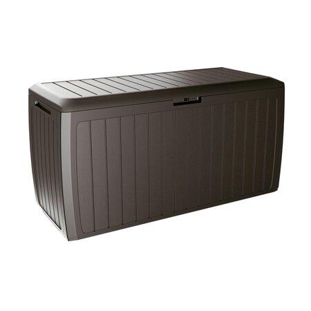 Boxe Board kerti tárolódoboz, barna, 290 l, 116 cm