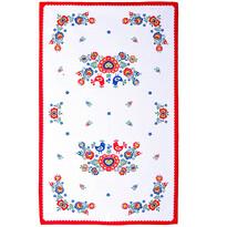 Șervet Folclor, roșu, 45 x 70 cm