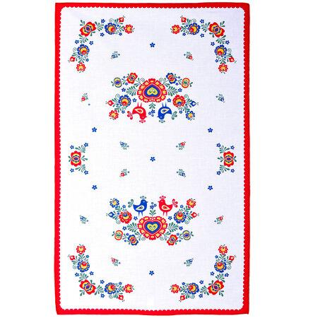Utierka Folklór červená, 45 x 70 cm