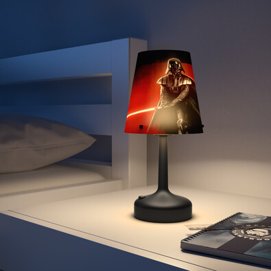 Philips Disney Lampka biurkowa przenośna Star Wars Darth Vader