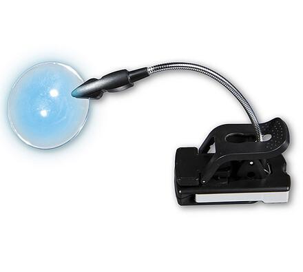 Lampička s lupou