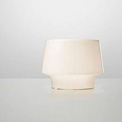 Stolní lampa Cosy in White 19 cm, bílá