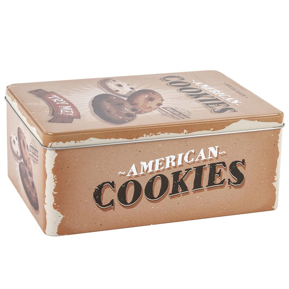 Plechový box Cookies 22 x 16 x 9 cm