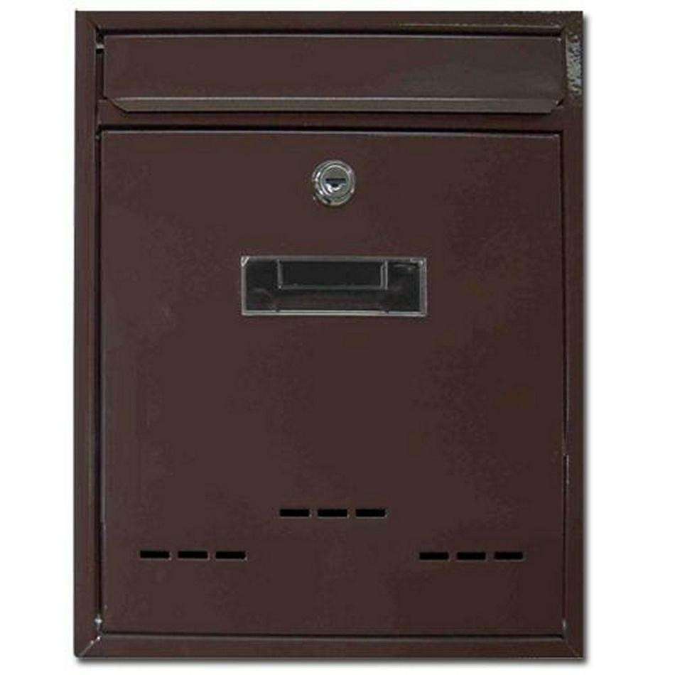 Poštovní schránka Radim M hnědá, 26 cm