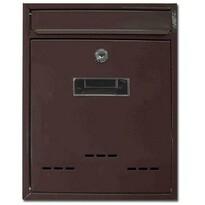 Poštovní schránka Radim hnědá, 26 cm