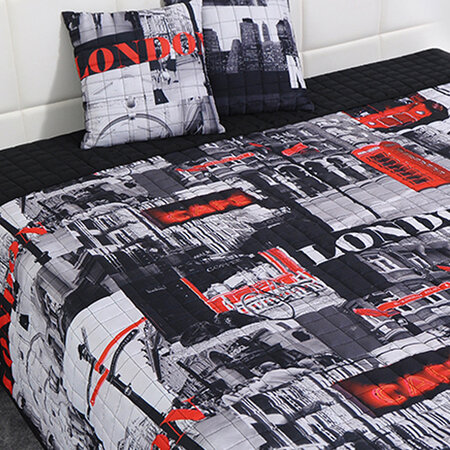 Přehoz na postel London, 220 x 200 cm