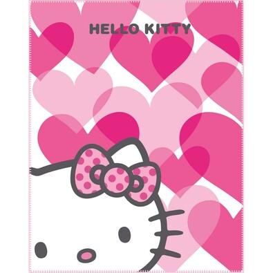 Dětská deka Hello Kitty Mimi Love Pink, 110 x 140