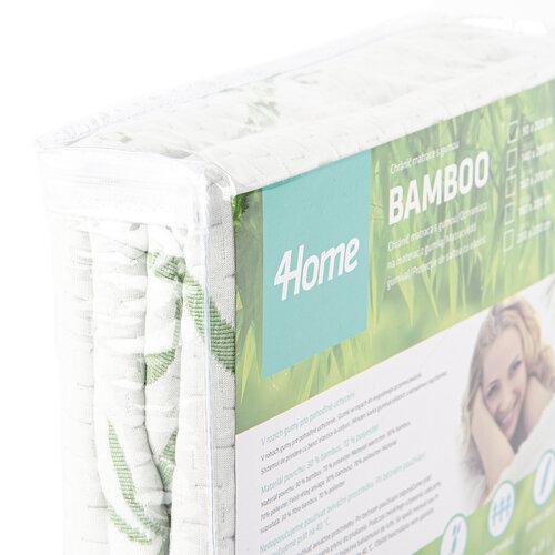 4Home Bamboo Wodoodporny ochraniacz  na materac z lamówką, 140 x 200 cm + 30 cm