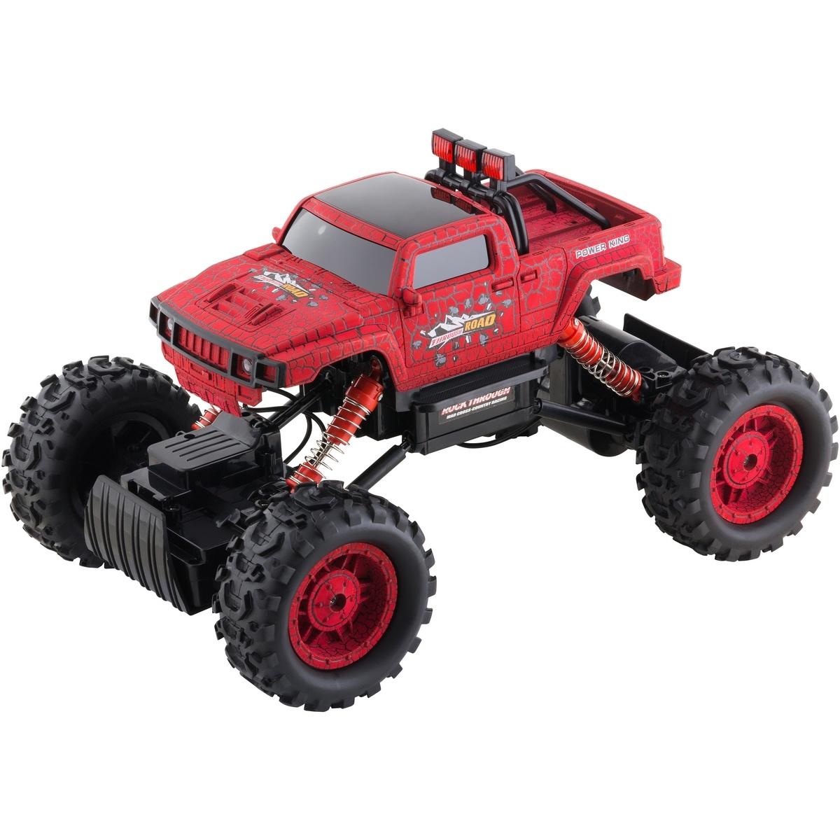 Buddy Toys BRC 14.614 Auto na diaľkové ovládanie RC Rock Climber, červená