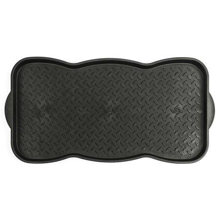Tray szennyfogó szőnyeg, fekete, 78 x 38 cm