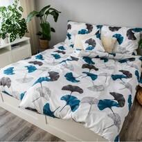 Saténové obliečky Ema Ginko, 140 x 200 cm, 70 x 90 cm