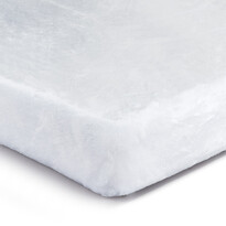 Mikroplüss lepedő fehér, 180 x 200 cm