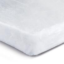 Prześcieradło pluszowe biały, 180 x 200 cm