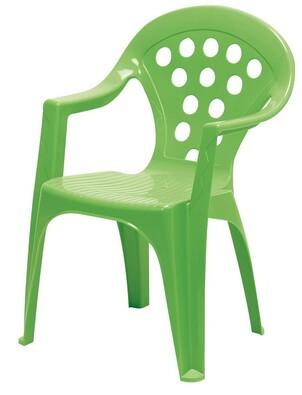Dětská židle zelená