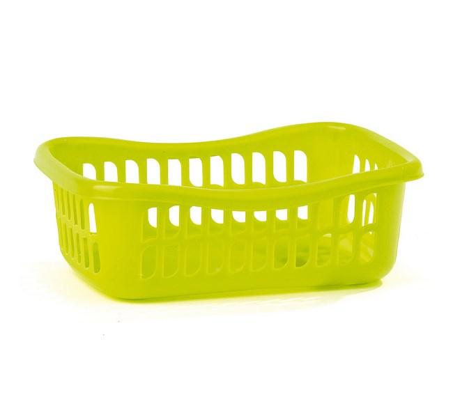 3dielna sada košíkov svetlo zelená