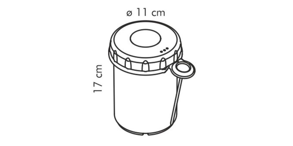 Aparat de preparat şuncă Tescoma PRESTO,  cu termometru