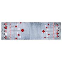 Anyag díszek karácsonyi asztali futó, 40 x 140 cm