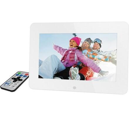 Digitální fotorámeček SDF 1060 W, Sencor, bílá, 25, 9 cm