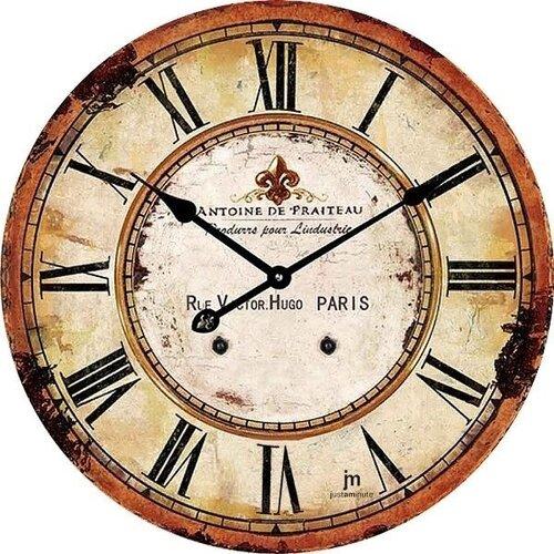 Lowell 14862 Designové nástěnné hodiny pr. 34 cm