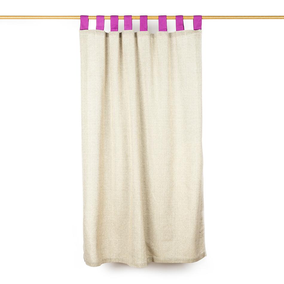 Jahu Záves režný růžová, 140 x 160 cm