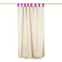Kócfüggöny, rózsaszín, 140 x 160 cm