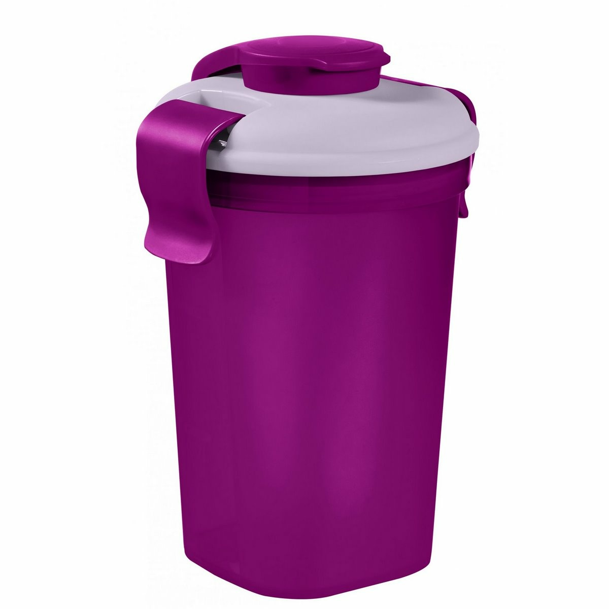 Curver Fľaša na potraviny LUNCH&Go 0,75 l, fialová